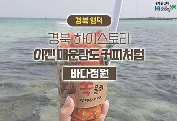 [하이스토리 경북] 영덕 바다정원